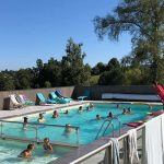 Activités, piscine et rivière
