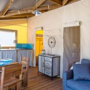 Camping Tente safari confort