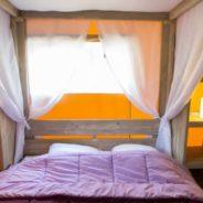 Chambre de notre Tente Lodge safari premium