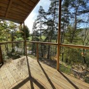 cabane camping Les Murmures du Lignon