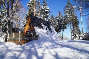 chalet hiver les Murmures du Lignon